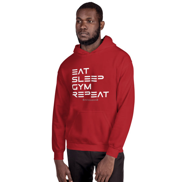 Eat, Sleep, Gym, Repeat - Hoodie