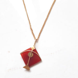PATANG Red Onyx Pendant