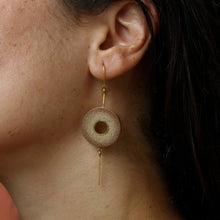 Load image into Gallery viewer, MUSKAAN Gold Dangle Disc