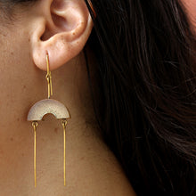 Load image into Gallery viewer, MUSKAAN Gold Dangle