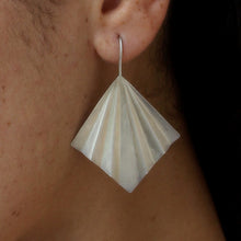 Load image into Gallery viewer, GARVI Origami Multi-Fold Earrings