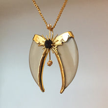 Load image into Gallery viewer, AVANI Gold Faux Tiger Claw Sunburst Pendant
