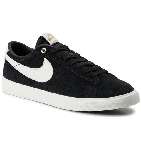 NIKE SB ZOOM BLAZER LOW GT SHOES - BLACK / SAIL