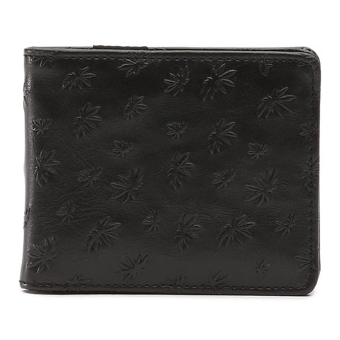 VANS PEACE LEAF WALLET - BLACK