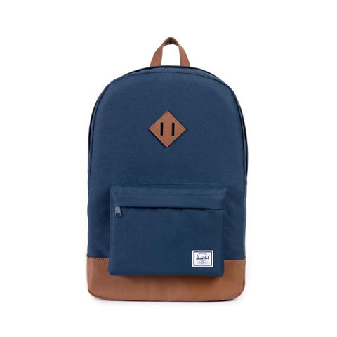 HERSCHEL HERITAGE 600D POLY BACKPACK - NAVY