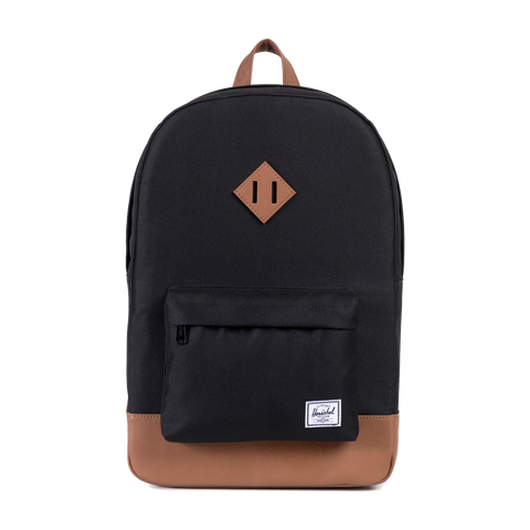 HERSCHEL HERITAGE 600D POLY BACKPACK - BLACK