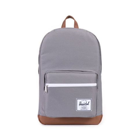 HERSCHEL POP QUIZ 600D POLY BACKPACK - GREY