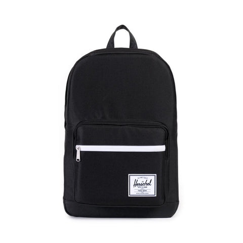 HERSCHEL POP QUIZ 600D POLY BACKPACK - BLACK