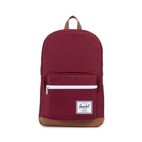 HERSCHEL POP QUIZ 600D POLY BACKPACK - WINDSOR WINE
