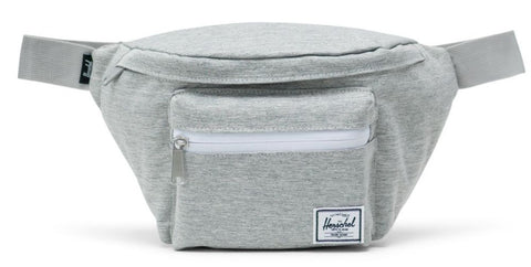 HERSCHEL SEVENTEEN 600D POLY FANNY SIDE BAG - LIGHT GREY CROSSHATCH