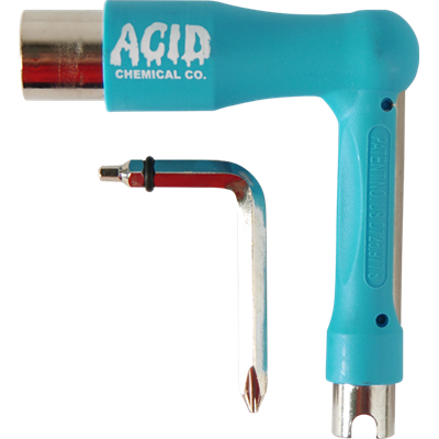ACID CHEMICAL CO L SKATE TOOL - BLUE