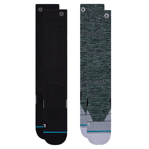 STANCE ESSENTIAL 2-PACK SNOW SOCK - MULTI