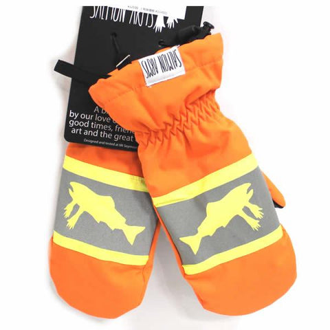 SALMON ARMS CLASSIC MITTS - HI-VIS