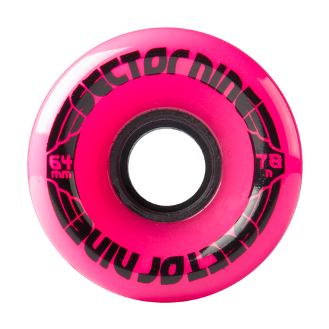 SECTOR 9 NINE BALL LONGBOARD WHEEL - 64MM 78A MAGENTA