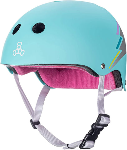 TRIPLE 8 SWEATSAVER HELMET - HOLOGRAM