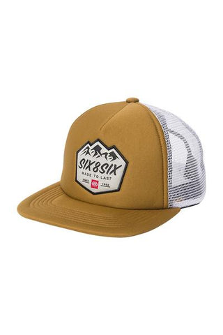 686 FOAM TRUCKER SNAPBACK - GOLDEN BROWN