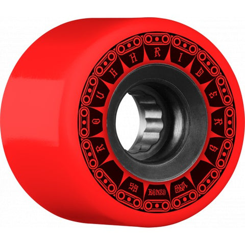BONES ROUGH RIDERS ATF TANK WHEELS - 59MM RED 80A