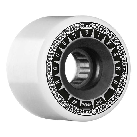 BONES ROUGH RIDERS ATF TANK WHEELS - 56MM WHITE
