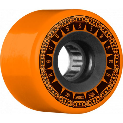 BONES ROUGH RIDERS ATF TANK WHEELS - 59MM ORANGE 80A