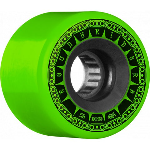 BONES ROUGH RIDERS ATF TANK WHEELS - 56MM GREEN