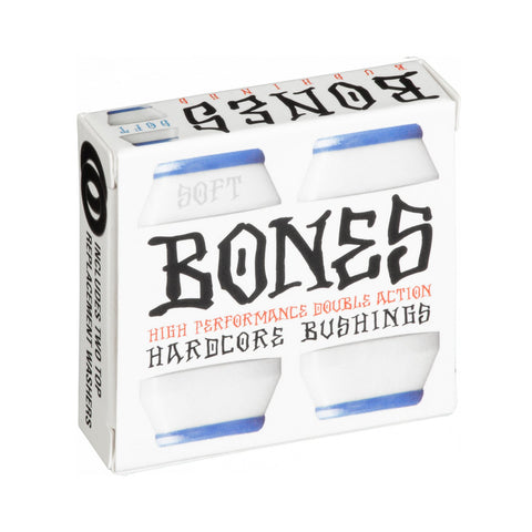 BONES HARDCORE BUSHINGS - SOFT WHITE