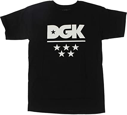 DGK ALL STAR T-SHIRT - BLACK