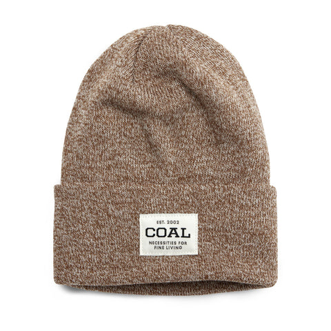COAL UNIFORM BEANIE - LIGHT BROWN MARL