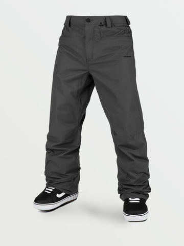 VOLCOM CARBON SNOW PANTS - DARK GREY