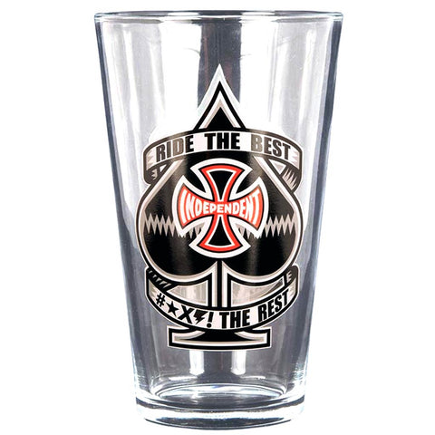 INDEPENDENT PINT GLASS ANTE