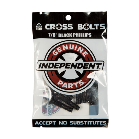 "INDEPENDENT PHILLIPS HARDWARE - 7/8"" BLACK/SILVER"