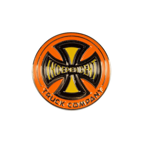 INDEPENDENT CHROMA PIN - ORANGE