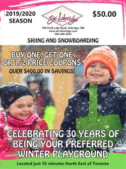 LAKERIDGE COUPON BOOKLET - SAVE NOW!!