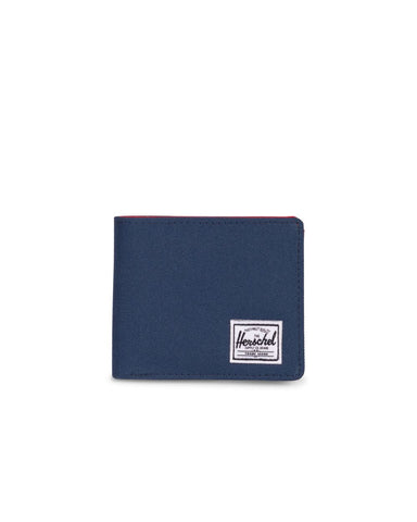 HERSCHEL ROY+ CARD WALLET - NAVY / RED