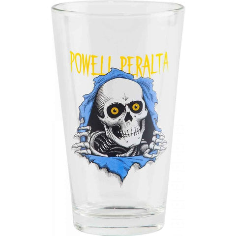 POWELL PERALTA RIPPER 2 PINT GLASS