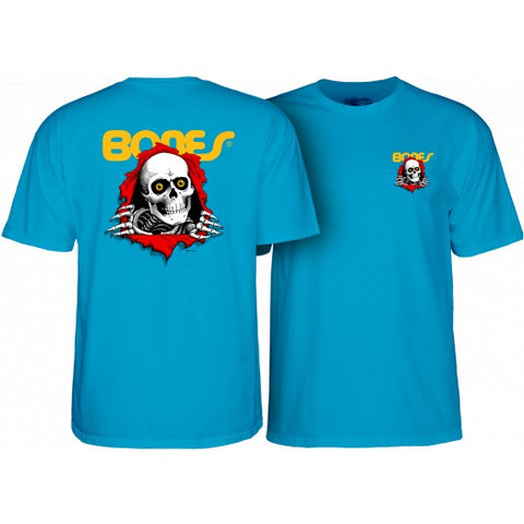 POWELL PERALTA RIPPER T-SHIRT - TURQUOISE