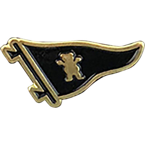 PRIMITIVE PENNANT BEAR LAPEL PIN