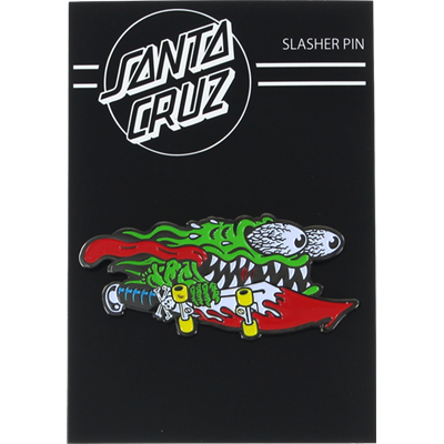 SANTA CRUZ SLASHER GREEN PIN
