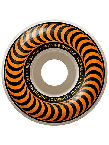 SPITFIRE CLASSIC FORMULA FOUR ORANGE WHEEL - 53MM 101D