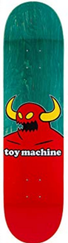 "TOY MACHINE MONSTER DECK - 8.5"" TURQOUISE"