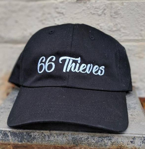 66 THIEVES DAD HAT - BLACK
