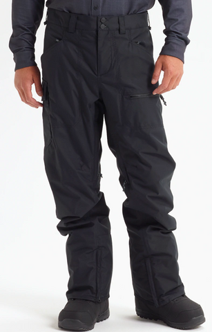 BURTON COVERT INSULATED SNOWPANT - TRUE BLACK