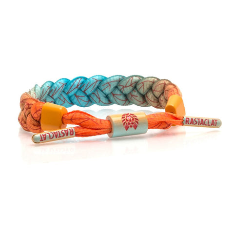RASTACLAT SUNRISE CLASSIC BRACELET - ORANGE / BLUE