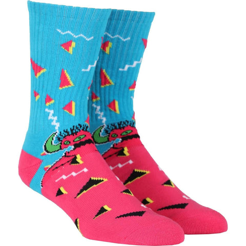 TOY MACHINE 80'S MONSTER SOCKS - MULTI