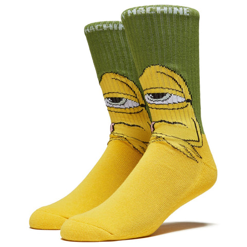 TOY MACHINE BORED SECT SOCKS - GREEN