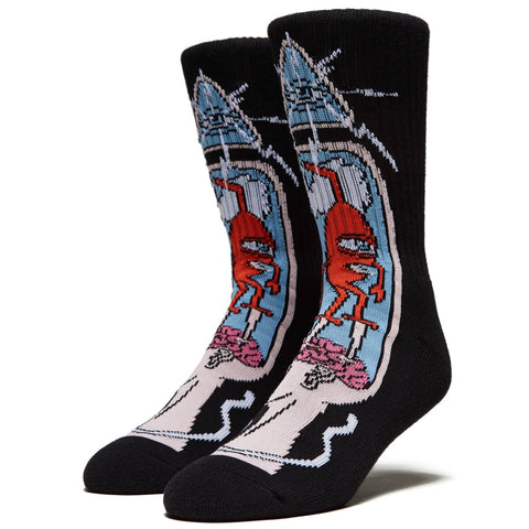 TOY MACHINE BRAIN STAB SOCKS - MULTI