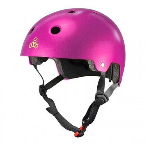 TRIPLE 8 BRAINSAVER HELMET - PINK METALLIC