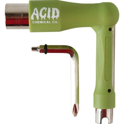ACID CHEMICAL CO L SKATE TOOL - GREEN