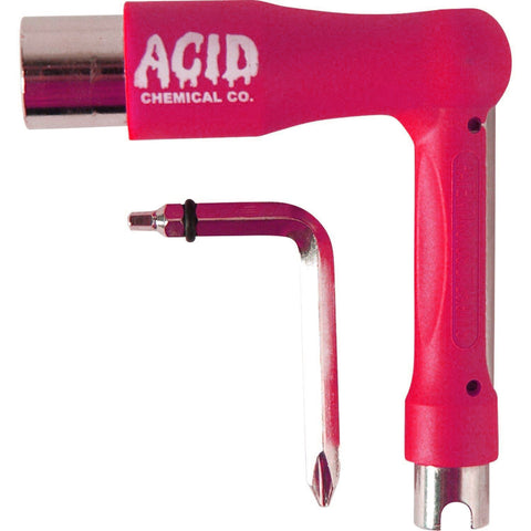 ACID CHEMICAL CO L SKATE TOOL - PINK
