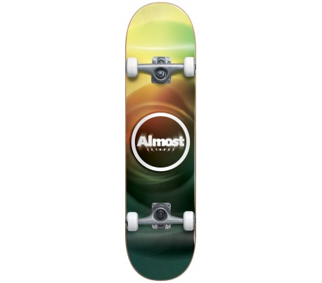 ALMOST BLUR RESIN COMPLETE SKATEBOARD - 7.75''