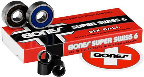 BONES BEARINGS - SUPER SWISS 6 BALL